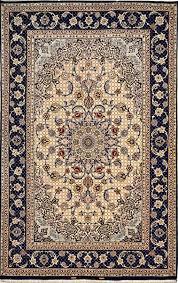 superfine silk base rare design silk persian rug