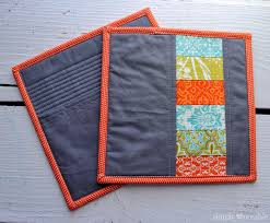 Adding a Pocket to Your Modern Quilted Potholders - Simply Notable & Adding a Pocket to Your Modern Quilted Potholders | SimplyNotable.com Adamdwight.com