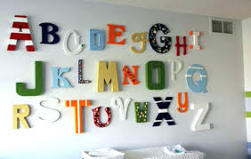Wooden Letters Design Simple Wall Decor Wall Lettering Decor Wood Letter Wall Decor Large