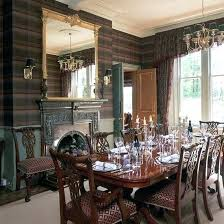 gallery beautiful home. Tartan Wallpaper Dining Room Ideas Photo Gallery Beautiful Homes Formal Home E