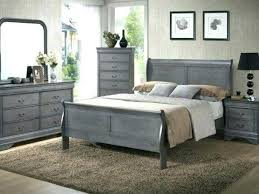 Gray Bedroom Furniture Sets White Distressed 7705 | leadsgenie.us