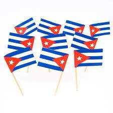 Cuban Party Decorations Cuban Flag Toothpicks Cuba Theme Party Decorations Supplies