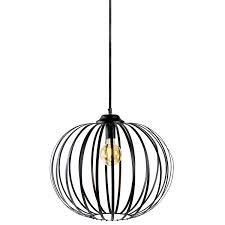 Hanglamp Zwart Annie 70cm