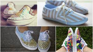 Diy Shoes Design Diy Designs To Spice Up A Pair Of Canvas Shoes Sheknows