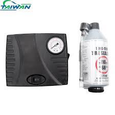 Long Lasting Portable Dc 12v Tire Sealant Repair Kits With