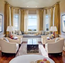 living room nook. living room nook ideas decorating large bay window treatment golden white linen p