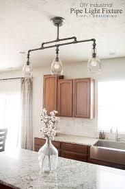 diy pendant lighting. DIY Industrial Pipe Light Fixture - A Beautiful Pendant #sponsored Diy Lighting O