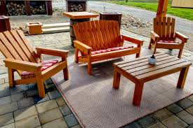 with a child size adirondack chair too