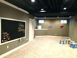 ideas for unfinished basement walls. Unfinished Basement Wall Covering Ideas Exquisite 2 Best Colors On For Walls S