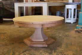 best reclaimed wood round dining tables choices delightful reclaimed pine wood round dining tables with