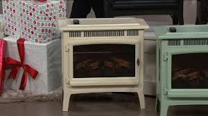 duraflame infrared quartz stove heater with 3d flame effect remote on qvc
