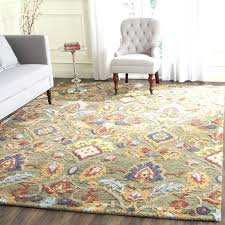 10 x 14 wool rug rugs handmade blossom green multicolored wool rug 10x14 wool area rugs