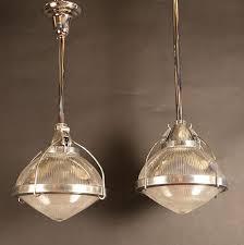 unusual lighting fixtures. pair unusual holophane penant lights lighting fixtures