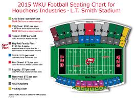 University Of Kentucky Stadium Seating Chart 35 Unbiased Lt Smith Stadium Seating Chart