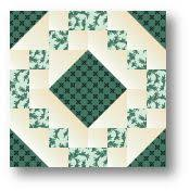 Free downloadable eBook of 4 one-block quilt patterns from ... & Irish Chain Quilt Block free pattern on McCall's Quilting at http://www. Adamdwight.com