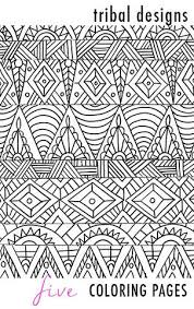 tribal coloring pages. Interesting Tribal Tribal Designs 5 Coloring Pages Throughout Tribal Coloring Pages L