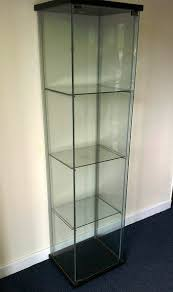 ikea detolf glass display cabinet stand