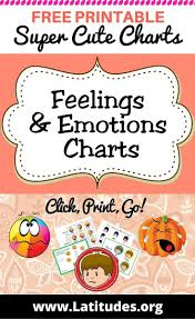 Emotion Chart For Kids Free Printable Feelings Emotions Charts For Kids Acn