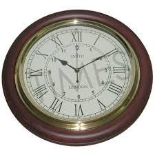 aar6 battery brown nautical wall clocks
