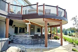 outdoor fireplace under deck exterior astonishing outdoor living spaces under deck hi res wallpaper photos natural