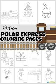 Our world is so exciting that every its particle may cause our curiosity and desire to explore it. Polar Express Coloring Pages