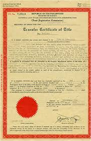 sample title land title how to register and transfer it in your name as the