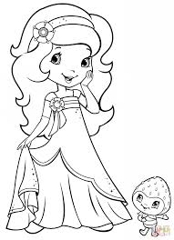 Coloring Pages Strawberry Shortcake - FunyColoring