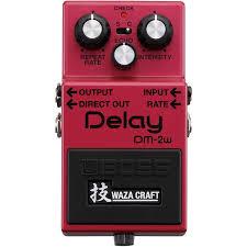 Купить <b>Boss</b> Delay <b>DM</b>-<b>2W</b> - гитарный <b>эффект</b> по лучшей цене от ...