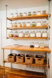 Open Shelf Kitchen 17 Best Ideas About Open Pantry On Pinterest Kitchen Pantry