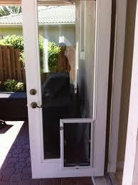 astounding doggie door patio door backyards patio doors glass patio doors for dogs used overhead garage