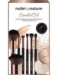 by nature10 year 7 piece essential brush set mfv 2g by nature 10 year 7 piece essential brush set mfv 2g