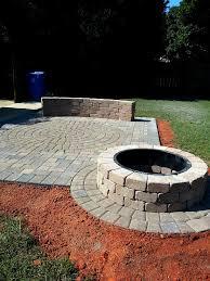 paver fire pit design
