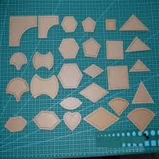 1set = 54pcs Acrylic mixed Patchwork Templates 54 Styling Tools ... & 1set = 54pcs Acrylic mixed Patchwork Templates 54 Styling Tools Diy Cloth  for quilting tools sewing Adamdwight.com