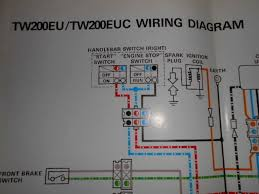 tw200 wiring diagram diagrams get image about wiring diagram yamaha oem factory color wiring diagram schematic tw200eu tw200 eu