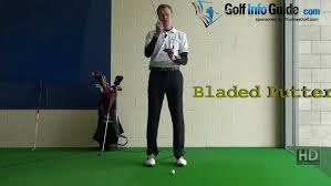 Belly Putter Fitting Chart Blade Vs Mallet Putter Heads Video By Pete Styles
