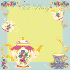 Kitchen Tea Party Invitation Tea Party Invitation Clipart Clipartfest Clipart Tea Party