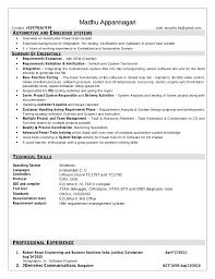 Automotive Engineer Resumes Automotive Embedded Resume