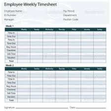 Free Printable Timesheet Templates Timesheet Template Free