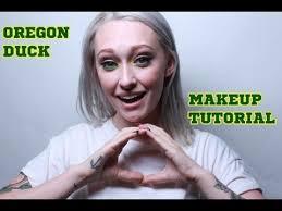 how to oregon ducks college football gameday makeup tutorial mac cosmetics inglot you