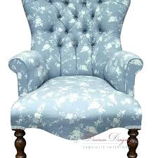 Blue Patterned Chair Enchanting Blue Patterned Chair Fidelime