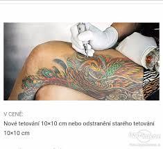 Voucher Na Tetovani Do 10x10 Cm V Praze Inzerce Prodám
