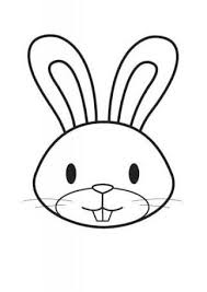 Image Result For Black And White Vector Rabbit Face Outlines