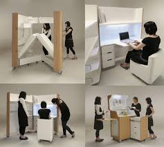 compact office furniture. Fascinating Compact Office Furniture Small Spaces And Decorating Exterior Stair Railings Ideas C