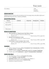 Resume Format For Mechanical Engineer Mechanical Engineer Resume Amazing Mechanical Fresher Resume Format