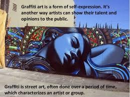 graffiti art or vandalism vandalism