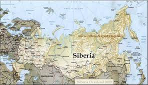 map of siberia russia with cities