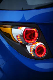 Chevrolet Sonic Lights Chevrolet Sonic Rs On The Way Gm Authority