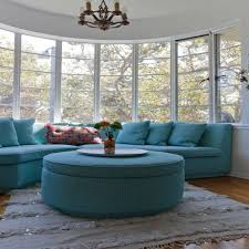 Curved Sofa For Bay Window | Livingroom & Bathroom within Bay Window  Sofas (Image