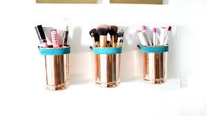 makeup organizer ideas easy ways to your makeup and your life makeup brush conner ideas