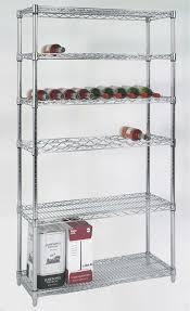chrome plated steel kitchen rack